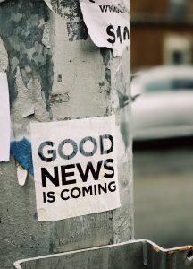 Gute Neuigkeiten - Newsletter Edith Steiner